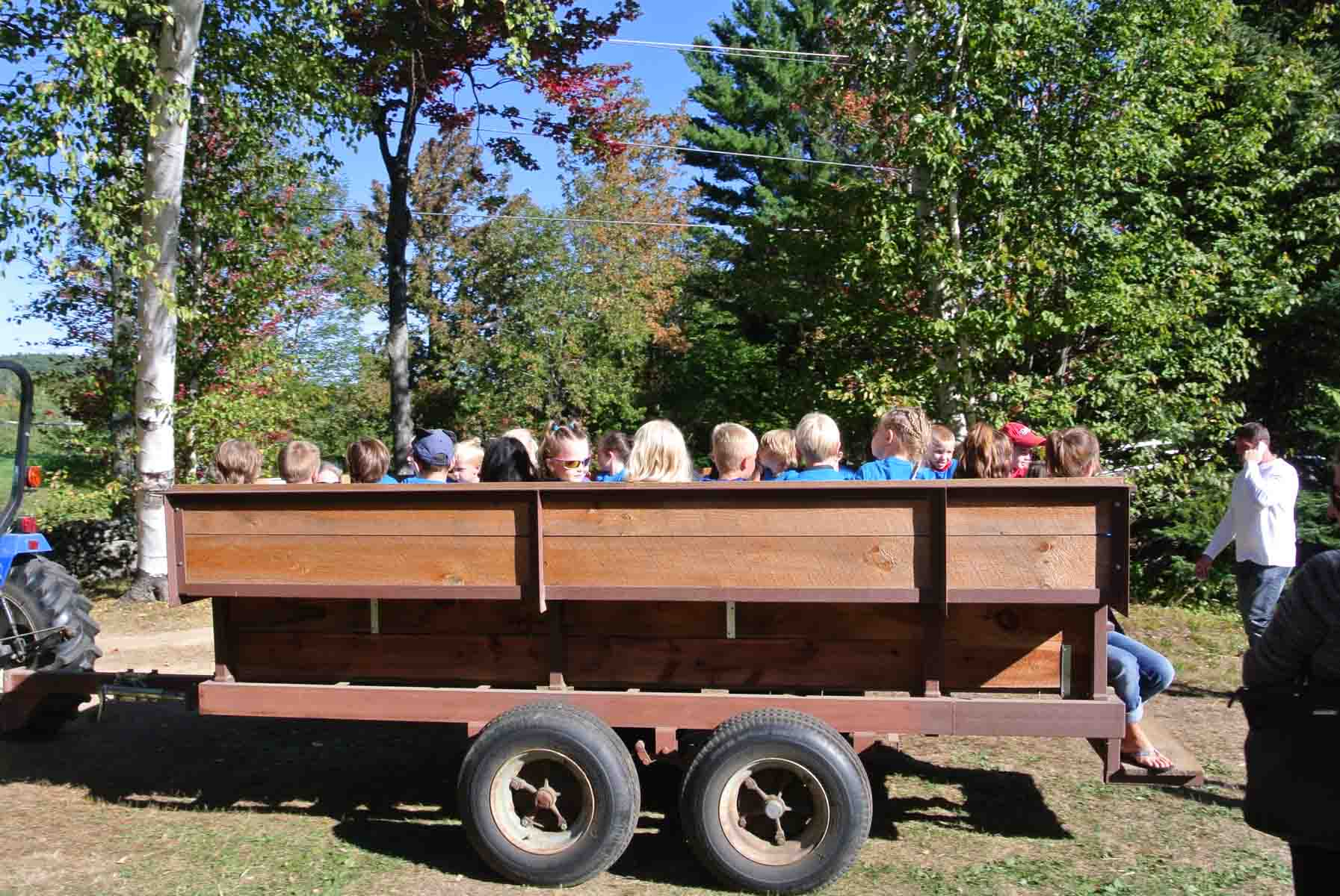 NH School Field Trip Hayride
