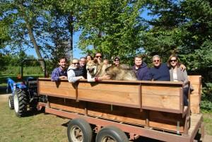 New Hampshire Hay Rides